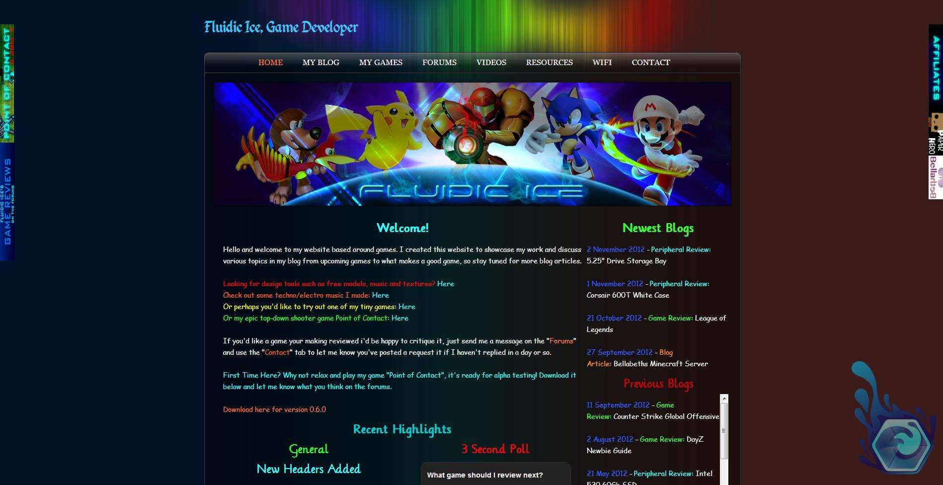 Website Version 1