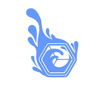 Fluidic Ice Logo