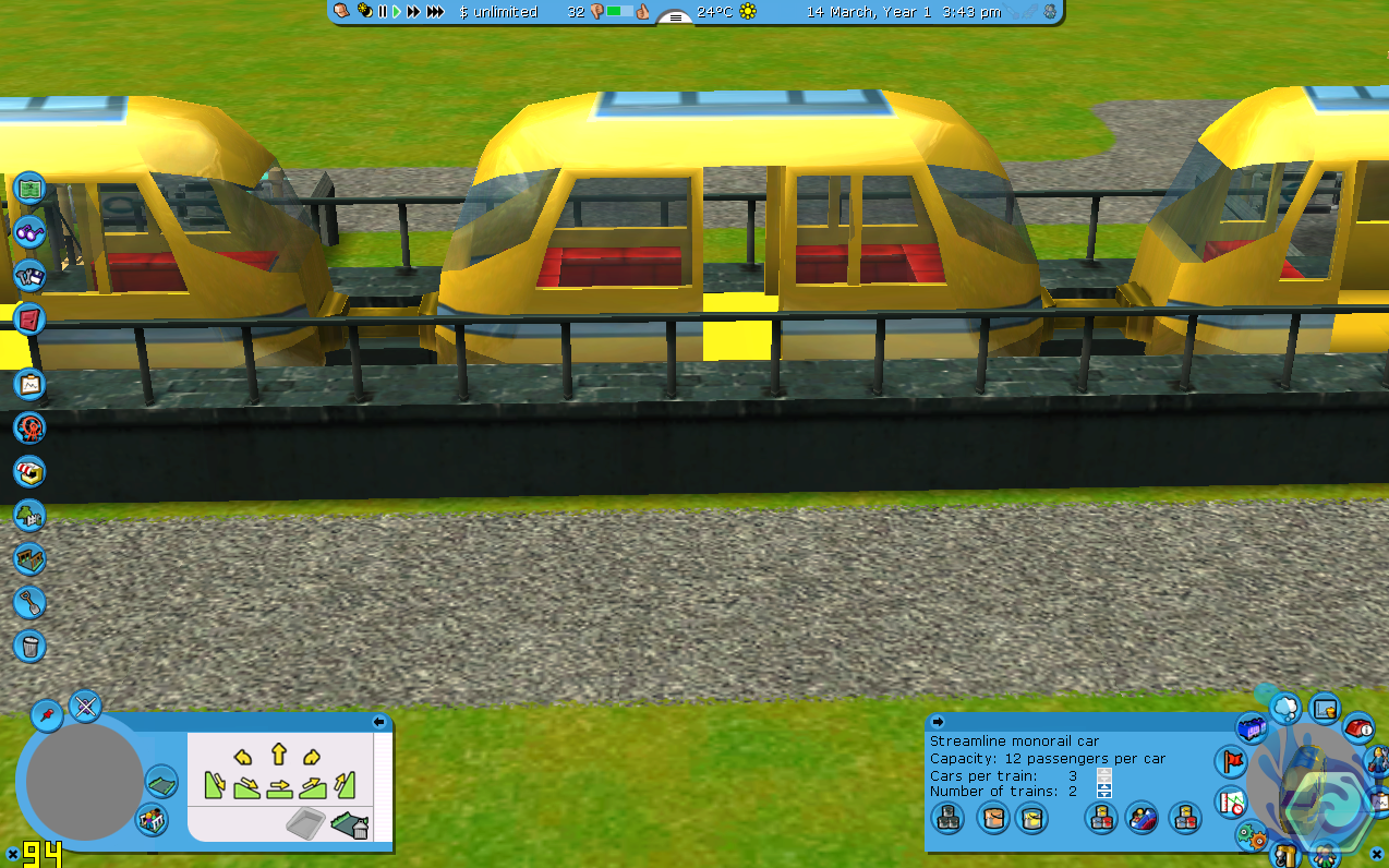 RCT3 Monorail