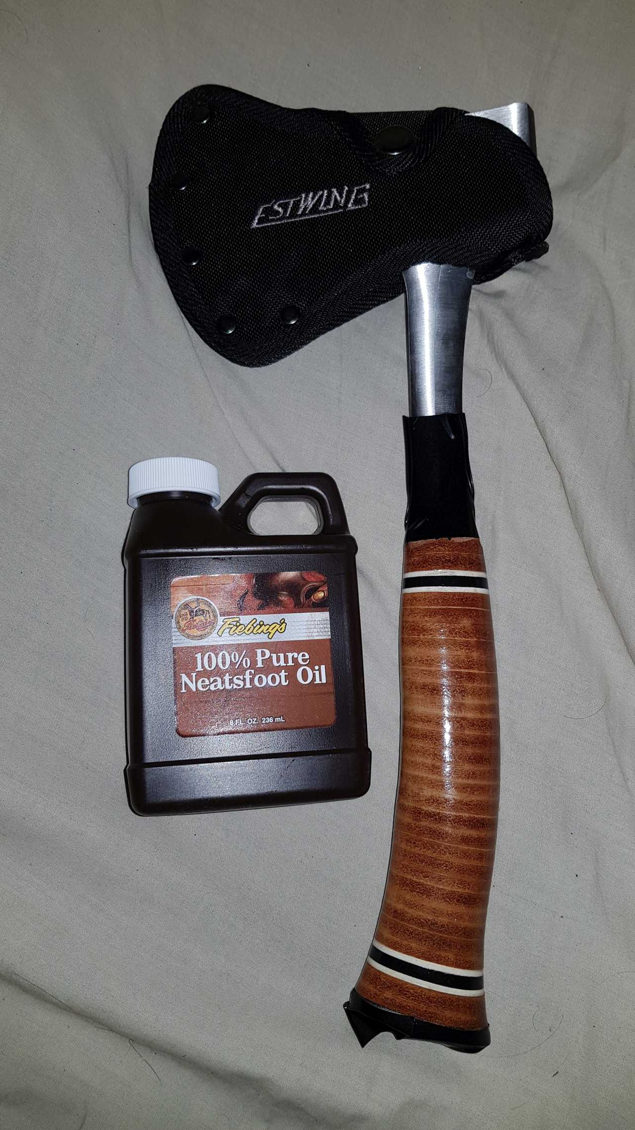 Estwing Axe Oiling