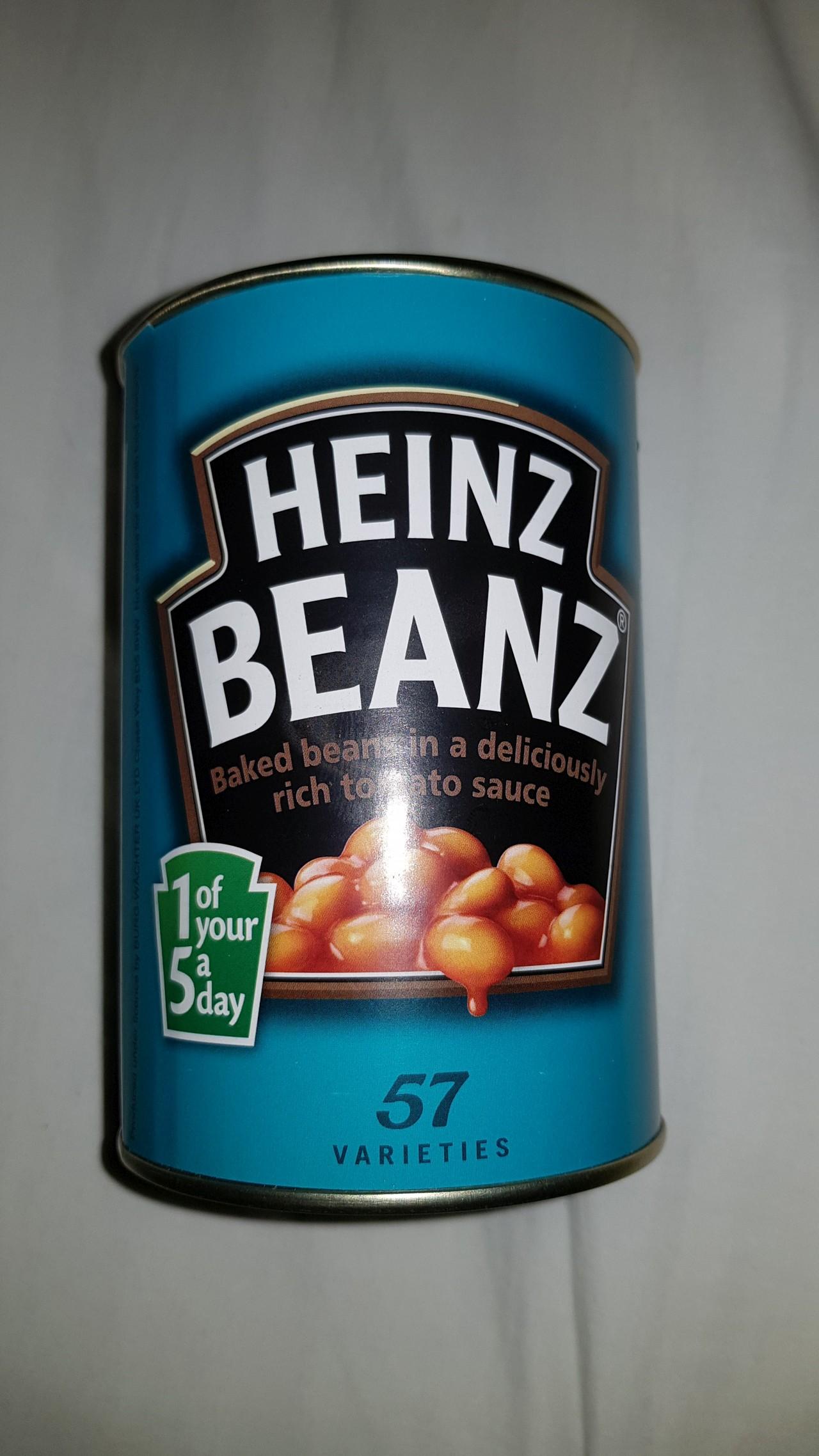Heinz Beanz Tin